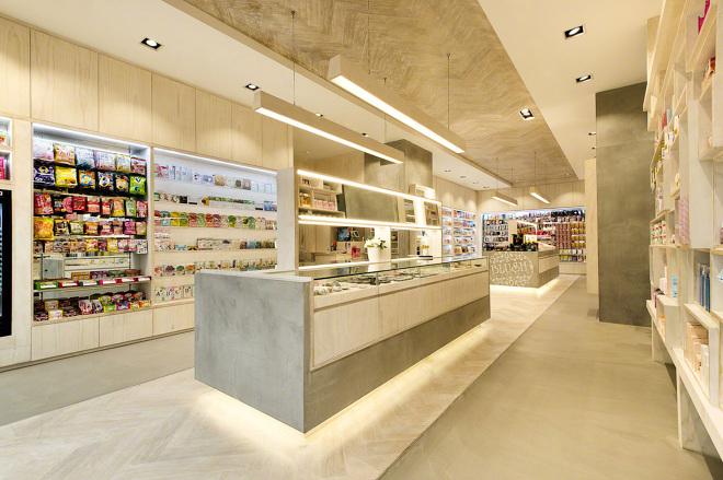 Blush Cosmetics Mima Design Creating Branded Retail