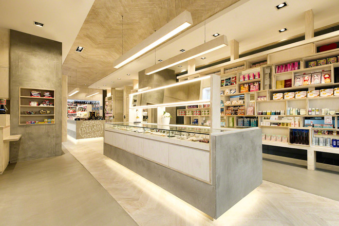Blush Cosmetics Mima Design Creating Branded Retail